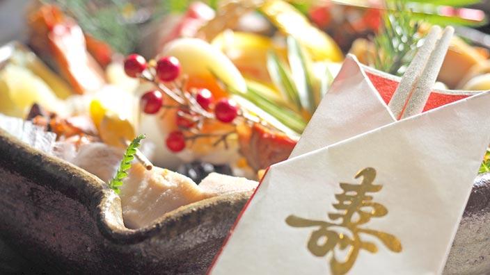お正月料理イメージ