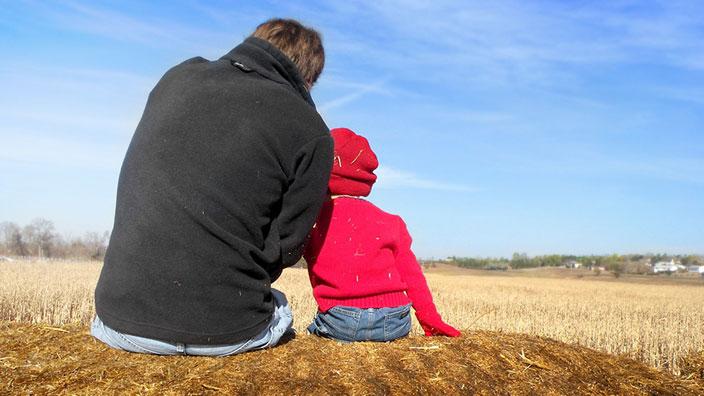お父さんと子供イメージ