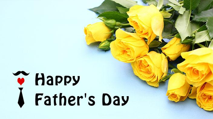 父の日の黄色いバライメージ