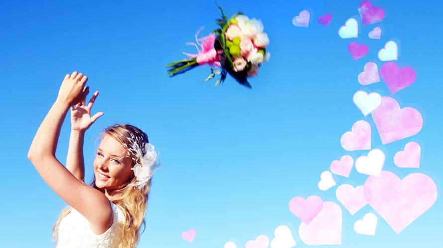 結婚式のブーケトスの起源・由来とは<br/ >-男性はガータートス? ブロッコリートス?