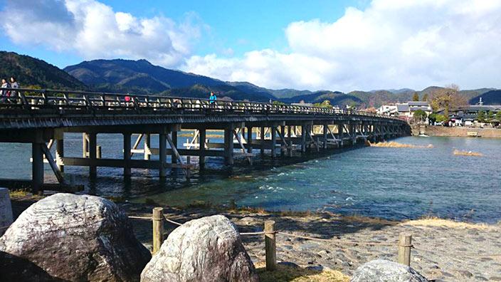 虚空蔵法輪寺の渡月橋イメージ