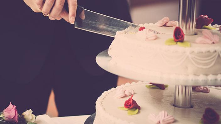 ウエディングケーキのイメージ