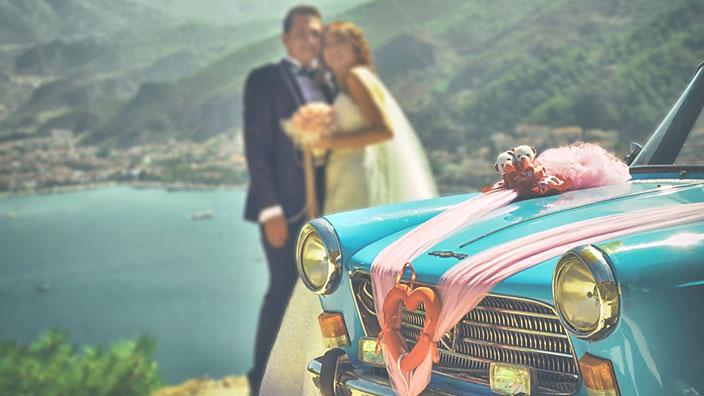 ハネムーン/新婚旅行のイメージ