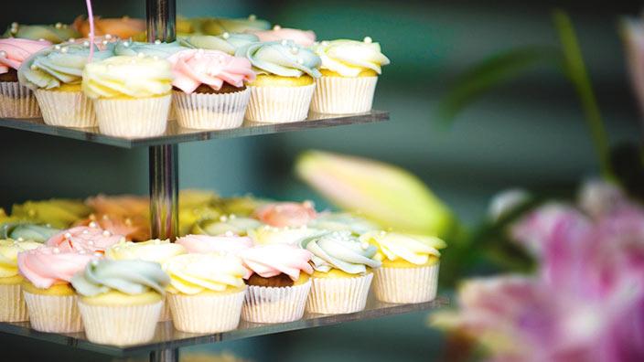 カップケーキタワーイメージ