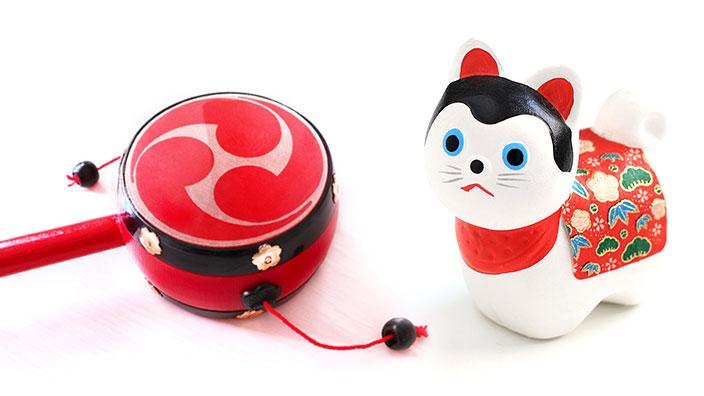 犬張子・デンデン太鼓のイメージ