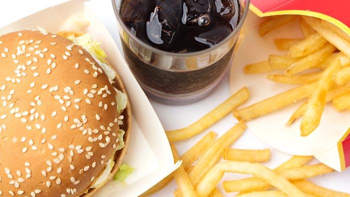 ハンバーガーセットのイメージ画像