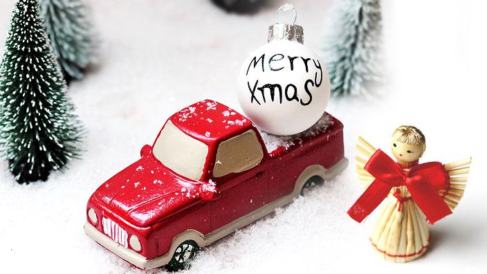 クリスマスがやってくる(イメージ)
