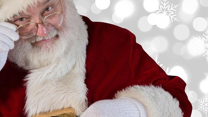 サンタのおじいさんイメージ