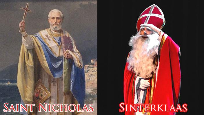 聖ニコラウスとシンタクラース比較