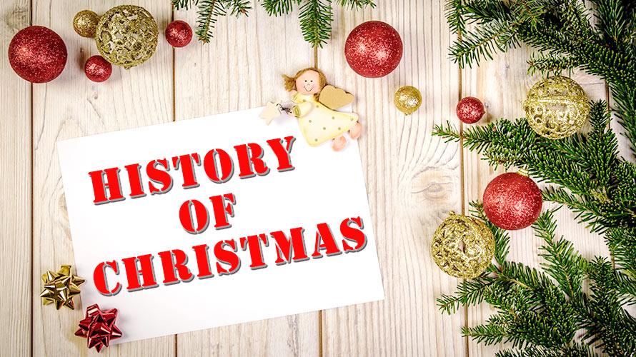 クリスマスの定番と、クリスマス文化が出来るまでの歴史についての記事イメージ