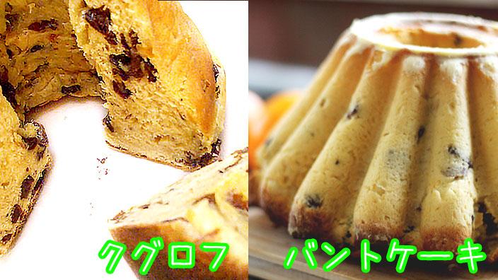 クグロフとバントケーキ